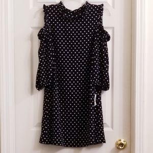 NWT City Studio Cut Out Sleeves Dress